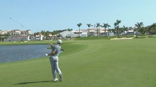 Download Rory McIlroy's approach into water and club toss at the Cadillac Championship Video