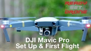 Download DJI Mavic - Set Up & First Flight Video