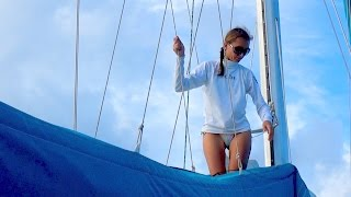 Download SSL 145 (EXTENDED!) ~ a PERFECT day of SAILING in the CARIBBEAN! Video