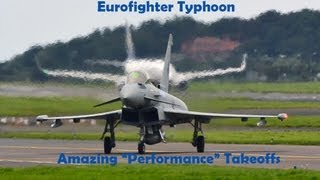 Download Eurofighter typhoon - Amazing takeoffs! Video