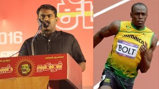 Download 130 கோடி பேரில் ஒரு உசேன் போல்ட் கூடவா இல்லை? - சீமான் | Seeman about Usain Bolt & India in Olympics Video
