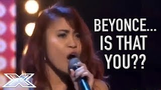 Download Beyoncé Soundalike Delivers A STUNNING Audition! | X Factor Global Video