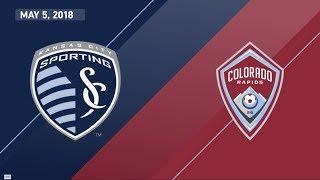Download HIGHLIGHTS: Sporting Kansas City vs. Colorado Rapids   May 5, 2018 Video