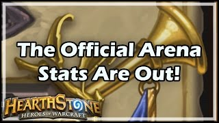 Download [Hearthstone] The Official Arena Stats Are Out! Video