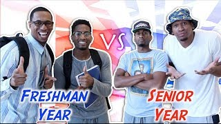 Download High School: Freshman Year vs Senior Year Video