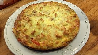Download Lidia Bastianich's Sausage, Bread and Pepper Frittata Video