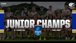 Download England vs United Arab Emirates, Mixed 18, Round 2   European Touch Junior Championships 2019 Video