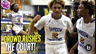 Download Jaelen House Damn Near Caused a RIOT! Crowd Rushes The Floor! Shadow Mountain vs Buckeye! Video