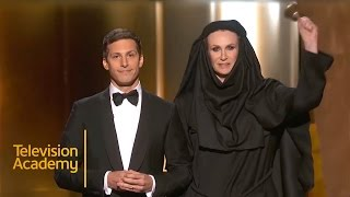 Download Emmys 2015 | Andy Samberg's Opening Monologue Video