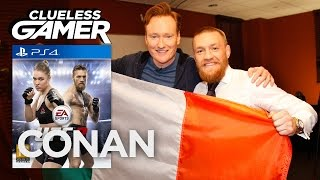 Download Clueless Gamer: ″UFC 2″ With Conor McGregor - CONAN on TBS Video