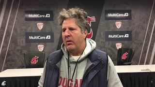 Download Mike Leach after practice Dec. 9 Video