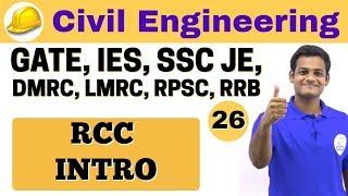 Download 3:00 PM   Civil by Nikhil Sir   Day #26   RCC INTRO Video