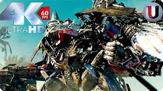 Download Transformers 2 Final Battle Optimus Prime vs Megatron & The Fallen (4K) Video