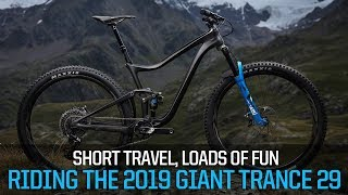 Download Short Travel, Loads of Fun - Riding the 2019 Giant Trance 29 Video