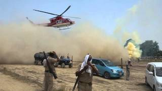 Download helicopter in village handia Video