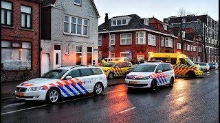 Download Lifeliner 3 ingezet bij ernstig ongeval met scooter op de Ringbaan-Oost in Tilburg - 31-01-2018 Video
