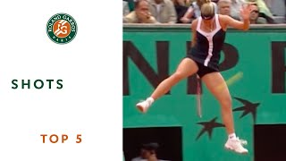 Download Top 5 Shots - Roland-Garros Video