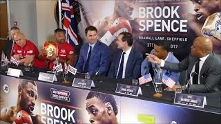 Download (WOW!!!) KELL BROOK, ERROL SPENCE, & TRAINERS IN HEATED ARGUMENT; SLAM EACH OTHER'S PAST OPPONENTS Video