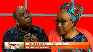 Download Presidency Insists Sharing Abacha Loot To The Poor Is An Investment, Economist Disagrees Video