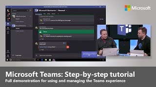Download Microsoft Teams: Step-by-step intro for using, enabling and managing the experience Video