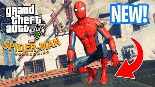 Download ULTIMATE SPIDERMAN MOD!! (GTA 5 Mods) Video