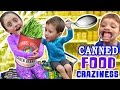 Download LEXI ADDICTED TO CANNED FOODS? + Mouthguard, Funny Upside Faces & Food Coloring Mess (FUNnel Vision) Video