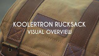 Download KOOLERTRON DSLR RUCKSACK : Visual Overview Video