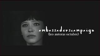 Download #AmbassadorsCampaign   Leo autoras octubre Video