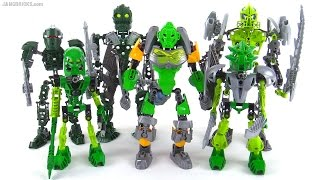 Download LEGO Bionicle: Old vs. New compared! (representative samples, NOT ALL green products ever) Video