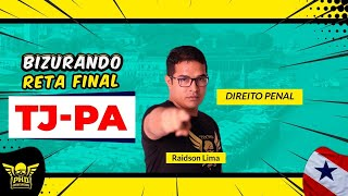 Download Bizurando Reta Final - TJ/PA Direito Penal (Parte 03) com Raidson Lima - PHD Concursos Video