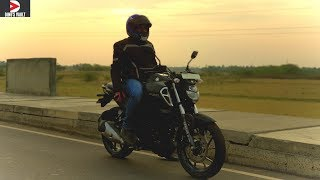 Download Yamaha FZS V3.0 ABS First Ride Review Braking Test #Bikes@Dinos Video
