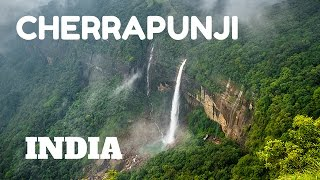 Download SPECTACULAR WATERFALLS & LIVING ROOT BRIDGES IN CHERRAPUNJI, MEGHALAYA, INDIA Video