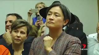 Download Penny Wong's reaction- Gay marriage vote results Video
