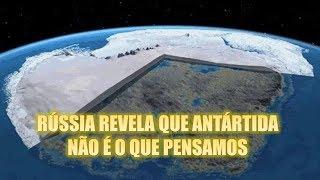 Download RÚSSIA REVELA QUE ANTÁRTIDA NÃO É O QUE PENSAMOS!!! Video