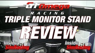 Download GT Omega Triple Monitor Stand V3 Review Video