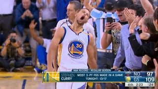 Download The Game Steph Curry COULDN'T MISS, NBA Record 13 Three Pointers! Video