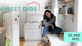 Download What $2,500 Will Get You In NYC | Sweet Digs Home Tour | Refinery29 Video
