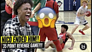 Download Nico Mannion NASTIEST ANKLE BREAKER OF THE YEAR!? Gets REVENGE vs Team That Beat Them Last Year! Video