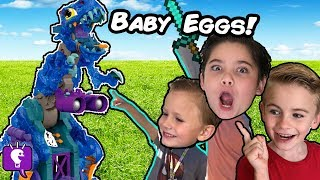 Download GIANT REX BONES Egg Adventure with the HobbyKids Video