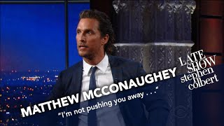 Download Matthew McConaughey Has Stephen's Old Sketches Memorized Video