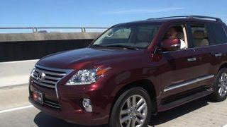 Download Car Tech - 2014 Lexus LX 570 Video