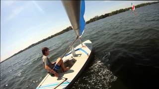 Download Go-Pro Sunfish Sailing Video