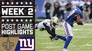 Download Saints vs. Giants | NFL Week 2 Game Highlights Video