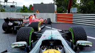 Download CRASH IN THE PITLANE ENTRY! - F1 2017 Career Mode Part 92 Video