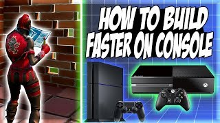 Download HOW TO BUILD FASTER ON CONSOLE! | Fortnite Battle Royale Tips & Tricks Ep. 1 Video