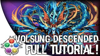 Download Volsung Descended - Full Tutorial! - Puzzle & Dragons - パズドラ Video