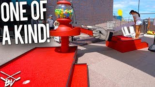 Download YOU HAVE TO SEE THIS CRAZY ONE OF A KIND MINI GOLF COURSE! Video