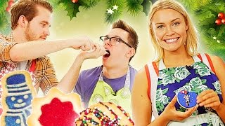 Download Coworkers Cookie Decorating Challenge Video