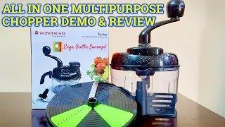Download Wonderchef Turbo Dual Speed Food Processor | Wonderchef Chopper Review| Wonderchef Chopper Demo Video