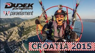 Download The Best Powered Paragliding Flight in 2015 Snake XX | Croatia | Lojak PPG Video